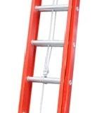 Escada extensível fibra degrau D 6,60 x 11,10