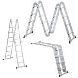 Escada extensivel em fibra 4,20×7,20m