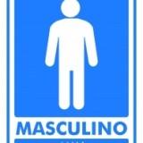Masculino – Man 15x20cm azul