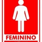 Feminino – woman 15x20cm vermelho