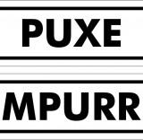 Kit adesivo 1 puxe / 1 empurre 25x8cm