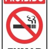 Proibido fumar 20x30cm