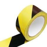 Fita de demarcação amarelo/preto 48mmx30mts
