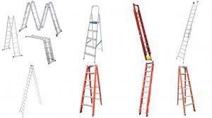 Escada alumínio e fibra