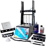 Máquina de Limpeza e Teste de Injetores/ Injeção Direta GDI c/ Cuba 1L