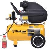 Compressor de Ar 2,0 Hp 24L 127V